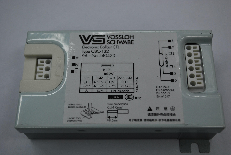 紧凑型荧光灯电子镇流器